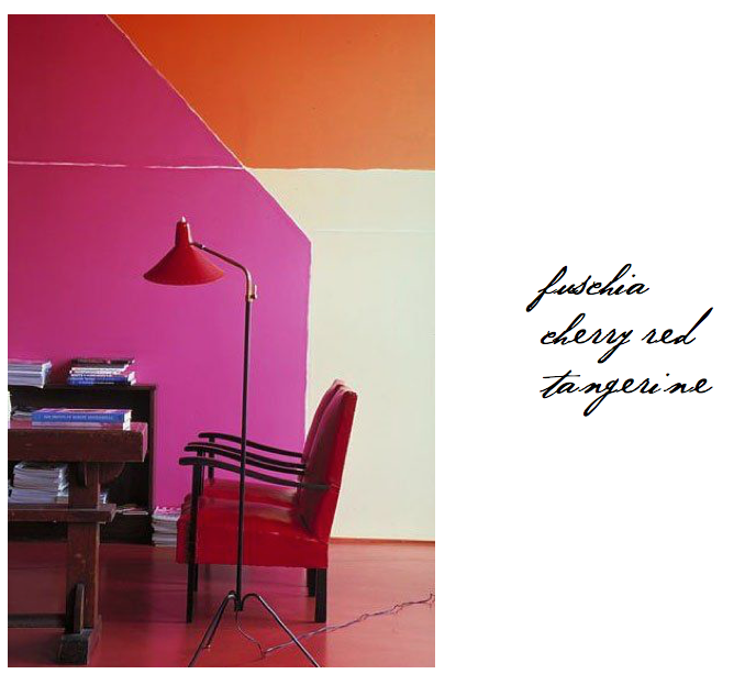 10 Rooms Design Blog Happy International Color day fuchsia