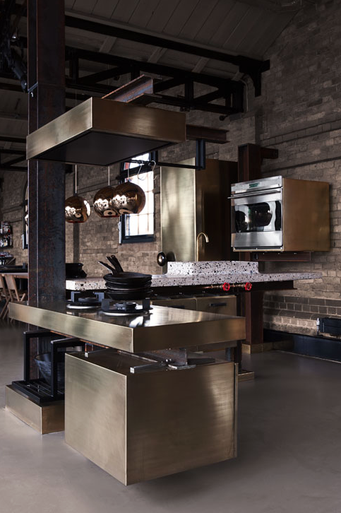 TD Beam Kitchen Tom Dixon Lindholdt Studio | 10 Rooms Design Blog | Angle
