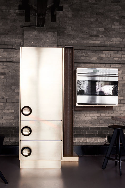 TD Beam Kitchen Tom Dixon Lindholdt Studio | 10 Rooms Design Blog | Pantry
