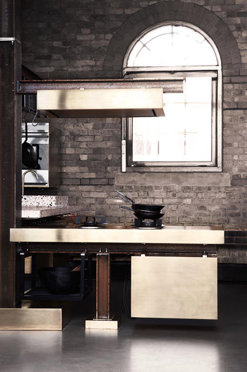 TD Beam Kitchen Tom Dixon Lindholdt Studio | 10 Rooms Design Blog | Window