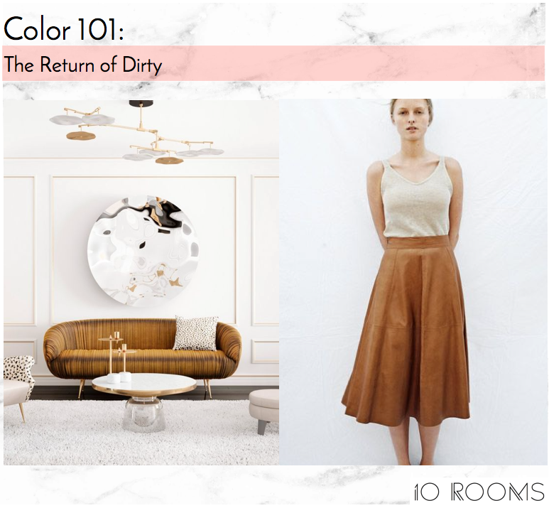 10 Rooms Design | Blog | Color 101 | The Return Of Dirty